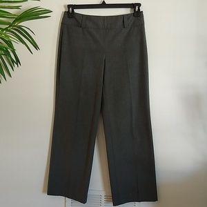 Talbots gray stretch career dress pants  6P
